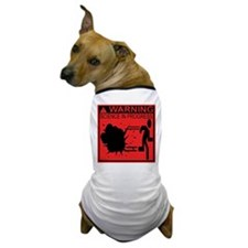 Science In Progress (red) Dog T-Shirt