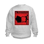 Science In Progress (red) Kids Sweatshirt
