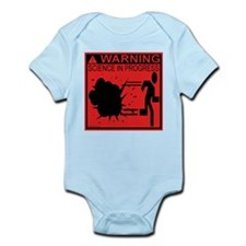 Science In Progress (red) Infant Bodysuit