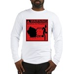 Science In Progress (red) Long Sleeve T-Shirt