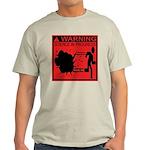 Science In Progress (red) Light T-Shirt