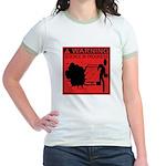 Science In Progress (red) Jr. Ringer T-Shirt