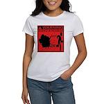Science In Progress (red) Women's T-Shirt