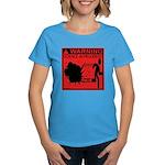 Science In Progress (red) Women's Dark T-Shirt