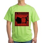 Science In Progress (red) Green T-Shirt