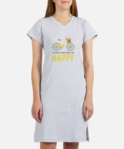 Makes You Happy Women's Nightshirt