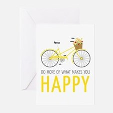 Makes You Happy Greeting Cards