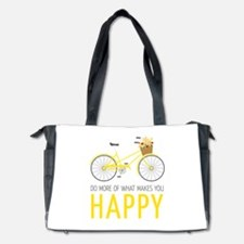 Makes You Happy Diaper Bag