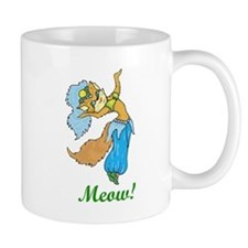 Belly Dancing Kitty Mug