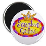 Scrapbook Queen Crown Magnet