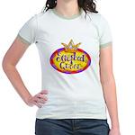 Scrapbook Queen Crown Jr. Ringer T-Shirt