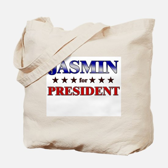 JASMIN for president Tote Bag