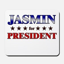 JASMIN for president Mousepad