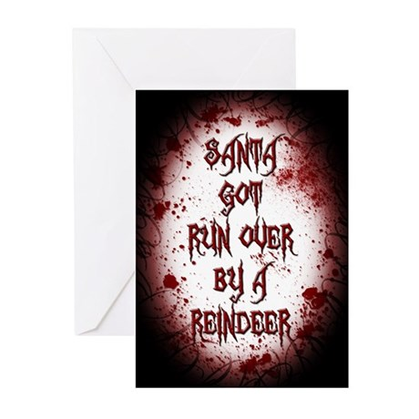 Rudolph is a Serial Killer Greeting Card (20 Pk)