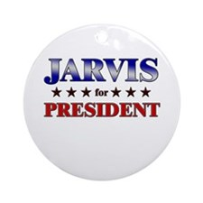 JARVIS for president Ornament (Round)