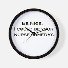 Be Nice.... Wall Clock