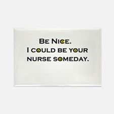 Be Nice.... Rectangle Magnet