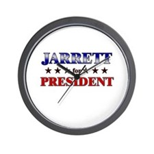 JARRETT for president Wall Clock