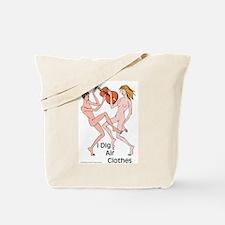 Air guitar or air clothes? Tote Bag