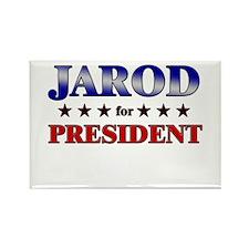 JAROD for president Rectangle Magnet
