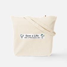 Teal Ribbon - Hero Mom Tote Bag