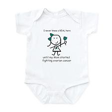Teal Ribbon - Hero Mom Infant Bodysuit