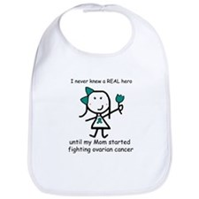 Teal Ribbon - Hero Mom Bib