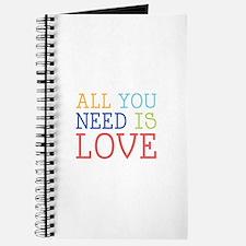 You Need Love Journal