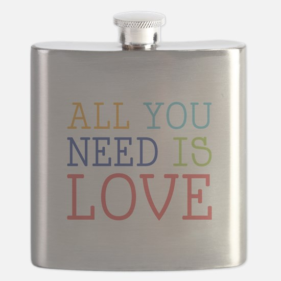 You Need Love Flask