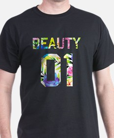 Cute Couples beauty and the beast T-Shirt