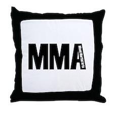 MMA - Mixed Martial Arts Throw Pillow