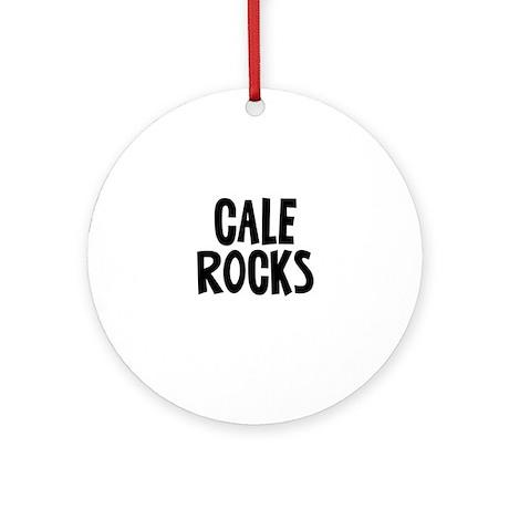 Cale Rocks Ornament (Round)