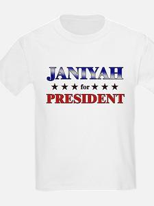 JANIYAH for president T-Shirt