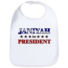 JANIYAH for president Bib