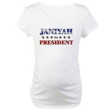 JANIYAH for president Shirt