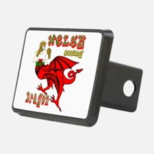 Wales boxer in dragon form Hitch Cover