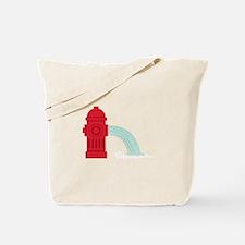 Fire Hydrant Tote Bag