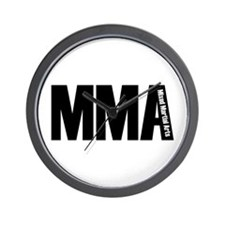 MMA - Mixed Martial Arts Wall Clock
