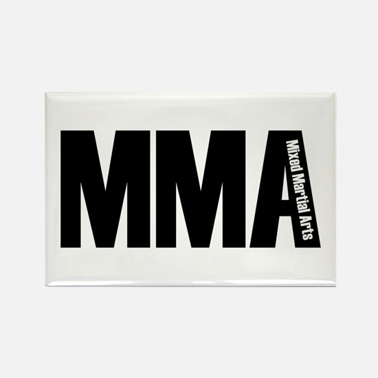 MMA - Mixed Martial Arts Rectangle Magnet