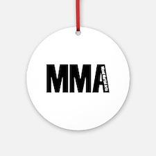 MMA - Mixed Martial Arts Ornament (Round)