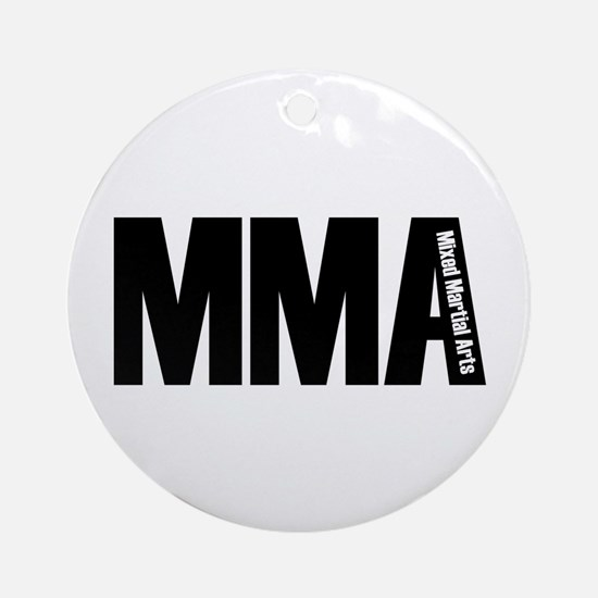 MMA - Mixed Martial Arts Ornament (Round)