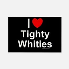 Tighty Whities Rectangle Magnet