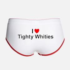 Tighty Whities Women's Boy Brief