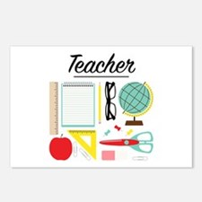 School Teacher Postcards (Package of 8)