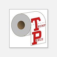 TP Toilet Paper Trump Pence Sticker