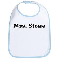 Mrs. Stowe Bib