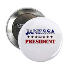 """JANESSA for president 2.25"""" Button (10 pack)"""