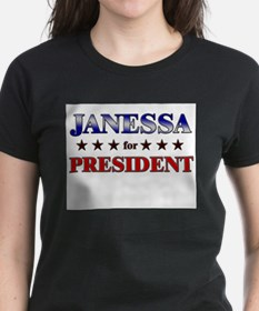 JANESSA for president Tee