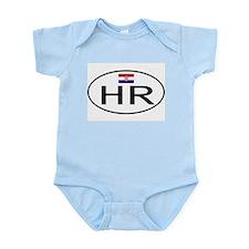 Croatia 1F Infant Bodysuit