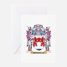 Donnelly Coat of Arms (Family Crest Greeting Cards